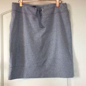 Tommy Hillfiger Gray Fleece Skirt Size Large